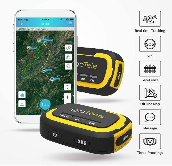 goTele GPS Tracker, No Monthly Fee