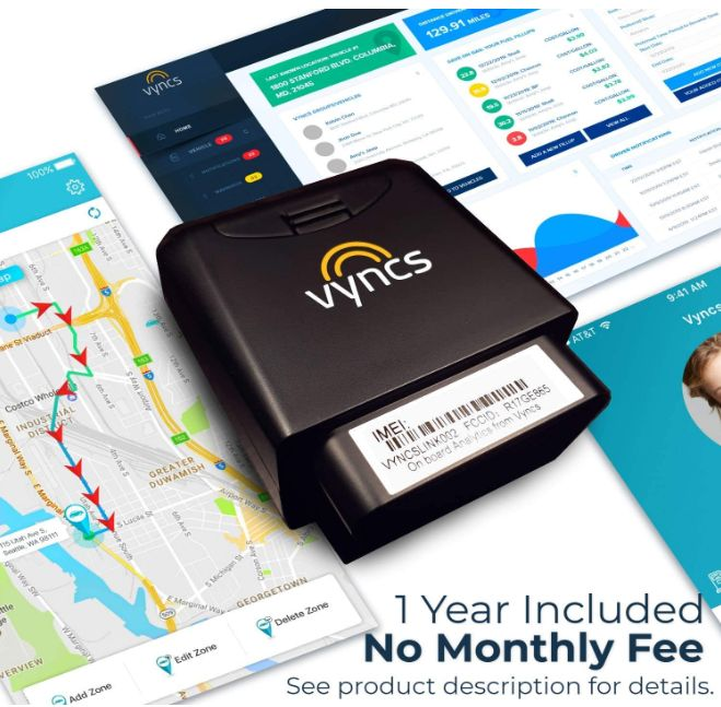 Vyncs GPS Tracker for Vehicles