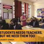 Classrooms are all about engagement between a teacher and students, where they can learn and grow