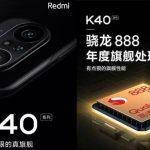 Redmi K40 to sport Snapdragon 888 processor, triple cameras