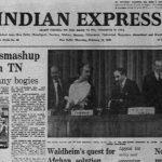 Forty Years Ago, February 12, 1981: Tamil Nadu Rail Mishap