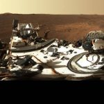 NASA's Perseverance rover captures panoramic view of Mars crater