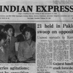 February 26, 1981, Forty Years Ago: Pak Unrest