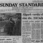 February 1, 1981, Forty Years Ago: AMU Strike