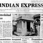 February 23, 1981, Forty Years Ago: Ahmedabad unrest