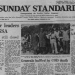 February 22, 1981, Forty Years Ago: Students' Sit-in