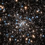 Hunting for a giant black hole, astronomers found a nest of darkness