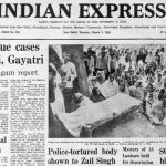 Forty Years Ago, March 3, 1981: Govt on corruption